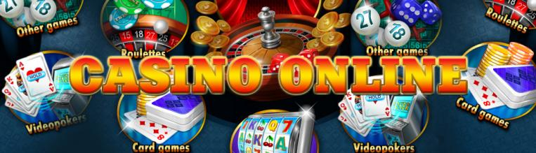 Casino online roulette, card games, video poker, other casino games