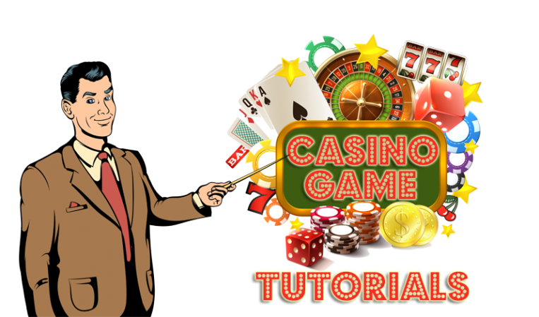 online casino game toutorials